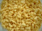 Gefrorene Ananas