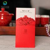 Cartão de papel do convite do casamento/cumprimento da impressão