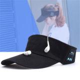 Refrigeração Verão personalizado Sport Music Hat com fone de ouvido/Pico de Baseball Caps