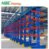 Cremagliera arancione blu della mensola del metallo per il magazzino industriale