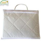 Pack n Play Playard Conjunto de hojas equipado jersey tejido de algodón tejido protector de colchón de cuna impermeable/cubierta
