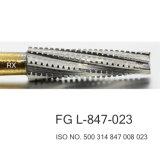 Отделка хвостовика FG 21mm и сверло FG L-847-023 Burs утески зубоврачебное