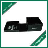 Matt-schwarzer gewölbter Hut-Verpackungs-Kasten für Geschenk-Verpackung