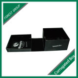 Matt Black Hat caja de embalaje corrugado para embalaje de regalo
