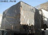 Mattonelle nere delle lastre del Pakistan del marmo dell'oro