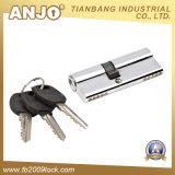 Ottone di profilo/cilindro euro della serratura cilindro dello zinco/serratura di portello