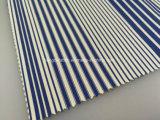 Listo - Tejido de nylon de hilados de algodón con Spandex teñido de sarga Fabric-Lz5323