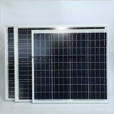 panneau solaire voltaïque de la poly photo 60W avec le rendement grand pour le petit système d'alimentation solaire