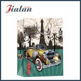 128 g/m² papel estucado impreso CAR CARRIER DE COMPRAS Bolsa de papel de regalo