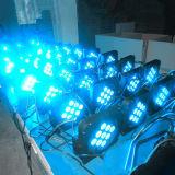 indicatore luminoso piano senza fili di PARITÀ di potenza della batteria di 9X15W DMX LED