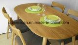 固体木のダイニングテーブルの居間の家具(M-X2405)