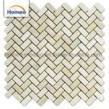 300x300mm de alta calidad de la naturaleza nueva Piedra del mosaico de mármol beige