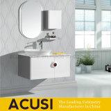 Vaidade moderna do banheiro da madeira compensada do projeto simples (ACS1-L27)