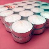 Rond blanc Coupe d'Alun Tealight bougies avec SGS