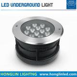 Lámpara al aire libre ligera de Inground LED 24W de la lámpara subterráneo