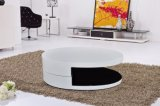 Fashion High Gloss + Veneer Functional MDF Coffee Table Living ROOM Furniture (CJ-M059F)