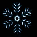 A energia solar do floco de neve colorido amarra luzes - iluminação Home do Ambiance do partido da paisagem da jarda de Gardern das decorações das árvores da luz de Natal do feriado do casamento do partido