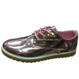 Новые моды женщин ЭБУ системы впрыска для отдыхающих обувь PU обувь индивидуальные (YJ1216-16)