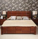 Festes hölzernes Bett-moderne doppelte Betten (M-X2306)