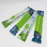 Toothbrush macio diário de Adule das cerdas com embalagem do Polybag