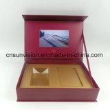 Produkt bekanntmachender LCD-Kasten-Musikvideo-Paket-Geschenk-Kasten