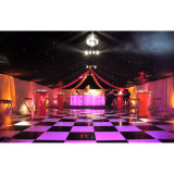 À bas prix plancher de danse interactive noir et blanc portable Location de plancher de danse