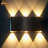 2017 Venta caliente IP65 LED decorativa de pared exterior de la luz de la moderna