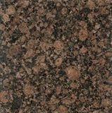 La Chine usine Comptoir d'érable à bord rond Baltic Brown Granite Tile