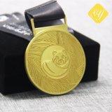 Sagola in lega di zinco a buon mercato all'ingrosso della medaglia del metallo dell'oro di alta qualità