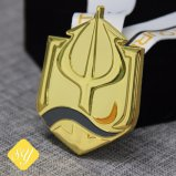 Barato de alta qualidade prêmios banhados a ouro personalizado crachá do Pino do esmalte com fecho da borboleta