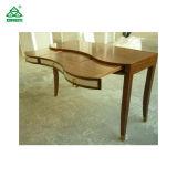 Hölzerne zeitgenössische Schreibens-Schreibtisch-Schlafzimmer-Möbel mit den festes Holz-Beinen