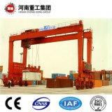 FEM/ISO de standaard RubberKraan van de Brug van de Band 50t-500t met Ce/sgs- Certificaat voor het Opheffen van de Container