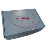 Deux côté boîte en carton<br/> ondulé de pliage d&#039;impression avec échantillon gratuit