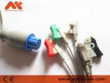 Cable de una sola pieza de S&W (Artema) ECG