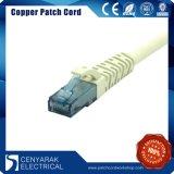 Cabo da correção de programa da rede do cobre do Ethernet CAT6