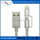 La foudre Micro USB câble 2 en 1 pour iPhone 6 6s 6plus iPad Air Mini Samsung & plus
