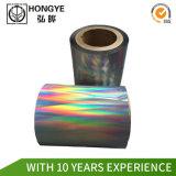 ラベルのカスタマイズされたサイズの虹ホログラフィックホイル