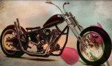Decoração moderna decoração de parede Piscina Retro Vintage Moto sinal de estanho
