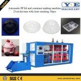 スタッキングのプラスチックPPふたおよび容器のThermoforming多機能の機械