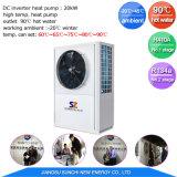 Amb. -20c out Let 90c l'eau chaude haute temp. R134A+R410une grande conférence des parties à l'eau pompe à chaleur air pour sécher à l'aide industrielle