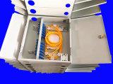 양쪽으로 여닫는 문은 강철판 12 코어 ODF 단위를 냉각 압연한다