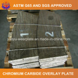 Plaque élevée d'usure de chrome pour le matériau en bloc remettant le matériel