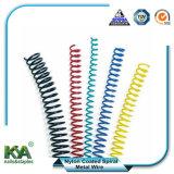 Recubierto de nylon de la bobina espiral vinculantes para los suministros de encuadernación