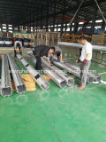 Constructeur en aluminium industriel de la Chine de profil d'extrusion anodisé par argent