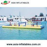 Corte de voleibol inflable del agua, echada inflable del voleibol, campo inflable del voleibol