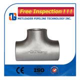 Het Stuiklasse T-stuk van uitstekende kwaliteit van het Roestvrij staal