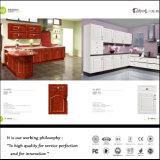 Porta de gabinete da cozinha do PVC para o gabinete de cozinha americano do estilo (FY011)