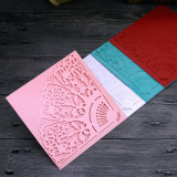 Impresión barata al por mayor de la tarjeta de felicitación de la Feliz Año Nuevo