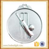 基礎球の銀製の発破メダル