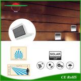 Garten-Sicherheits-Lampen-im Freien wasserdichtes Solartreppen-Zaun-Wand-Licht